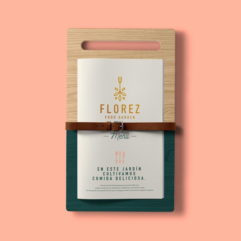 Diseño de menú para Florez